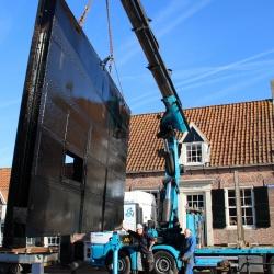 Renovatie kademuren Hasselt