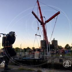 Duikassistentie Oostersluis Groningen