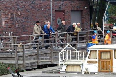 Onderwaterwerkzaamheden haven Elburg